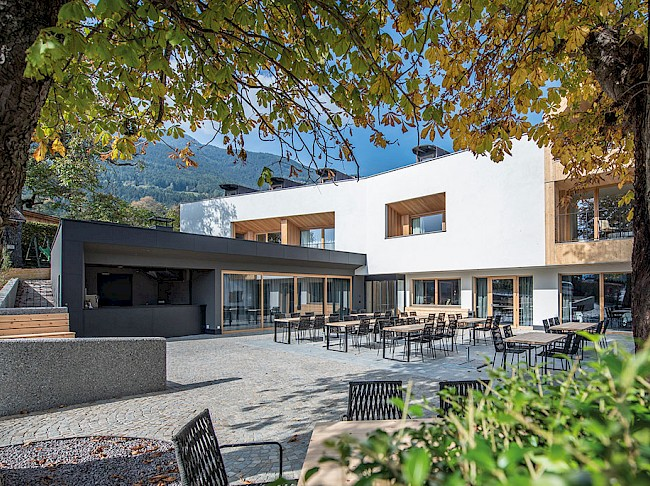Dine delightfully above the roofs of Brixen – in the new Alpenrose hotel
